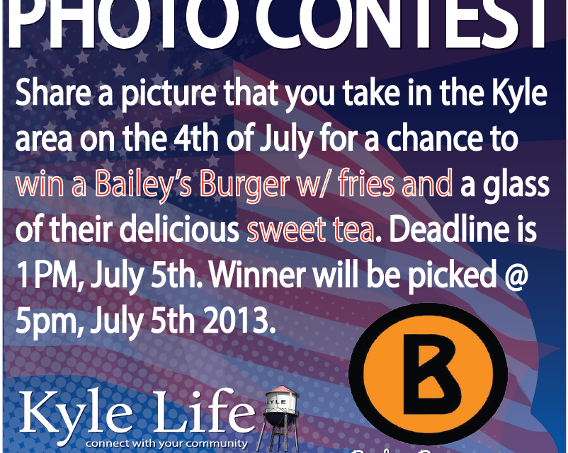 Photo Contest – Win a FREE Bailey's Burger w/ Fries & Sweet Tea