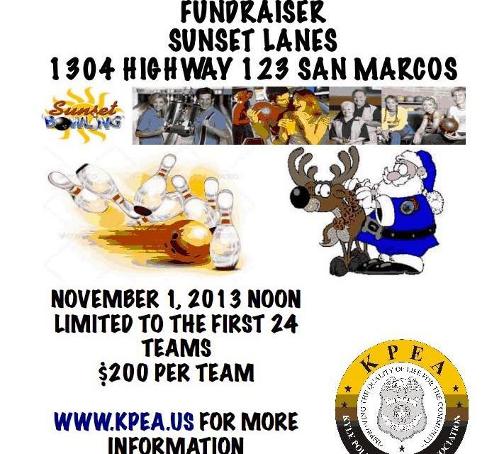 Kyle Blue Santa Program Bowling Tournament Fundraiser