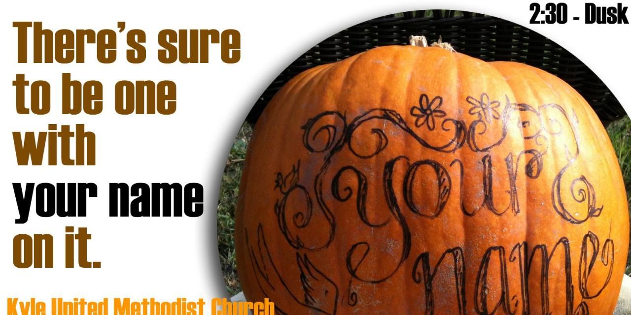 KUMC $5 Pumpkin Sale!