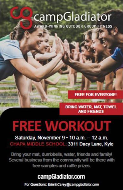 FREE Camp Gladiator Community Workout