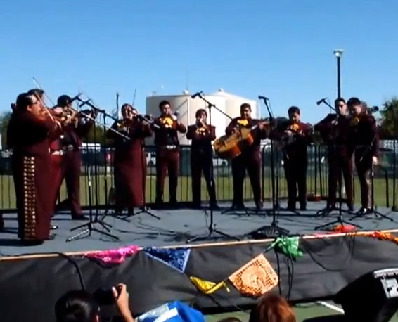 Videos from the 3rd Annual Dia De Los Muertos Mariachi Extravaganza