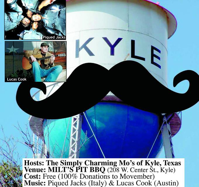 """""""Movember"""" Benefit & Silent Auction at Milt's BBQ"""