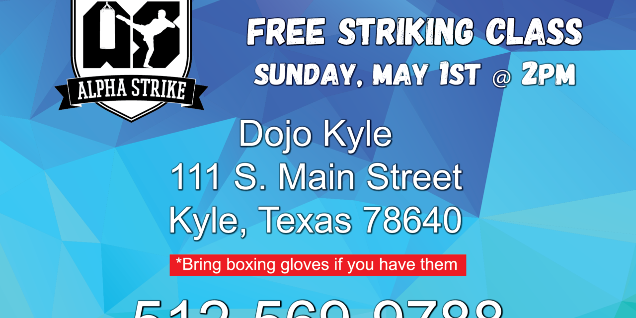 New Boxing/Striking Academy Starting Classes in Kyle