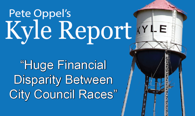 The Kyle Report: Huge Financial Disparity Between Two City Council Races