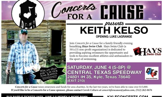 June's Concert for a Cause, Benefiting the Hays Swim Club!