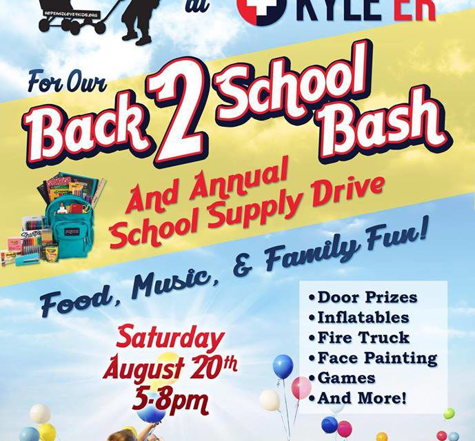 Hope & Love 4 Kids Back 2 School BASH 2016