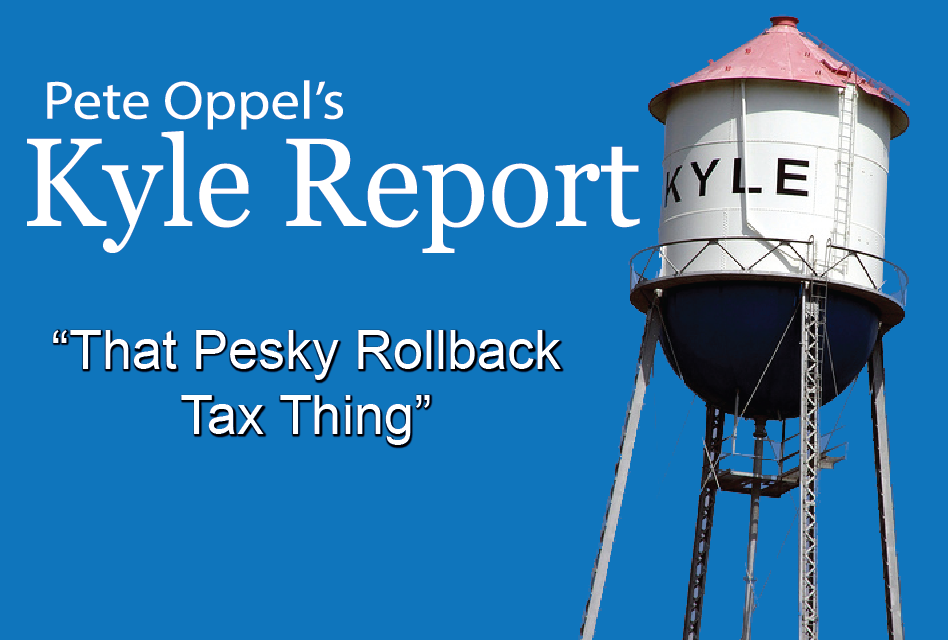The Kyle Report: That Pesky Rollback Tax Thing