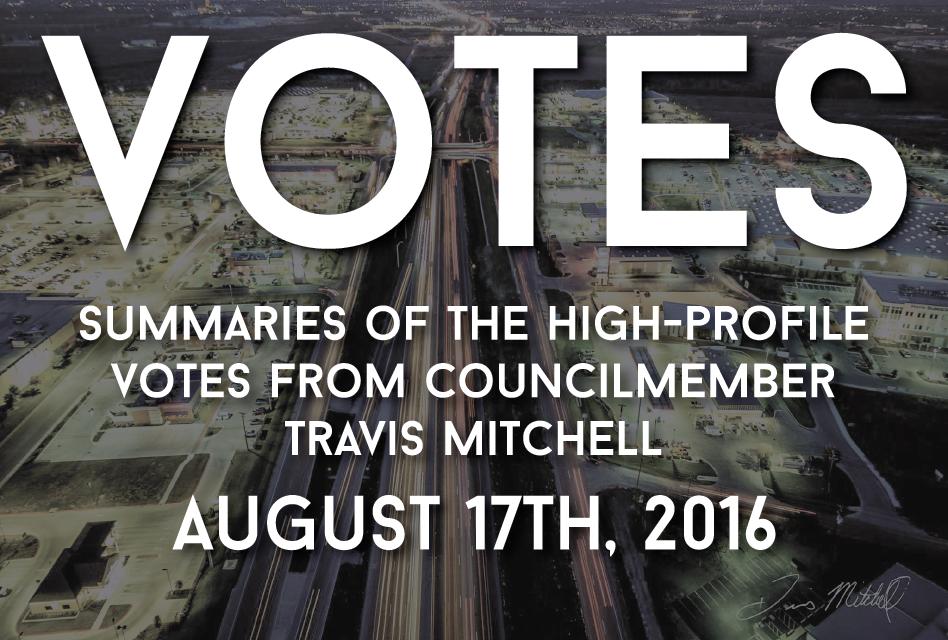 """Votes"" – 17 Aug 2016"