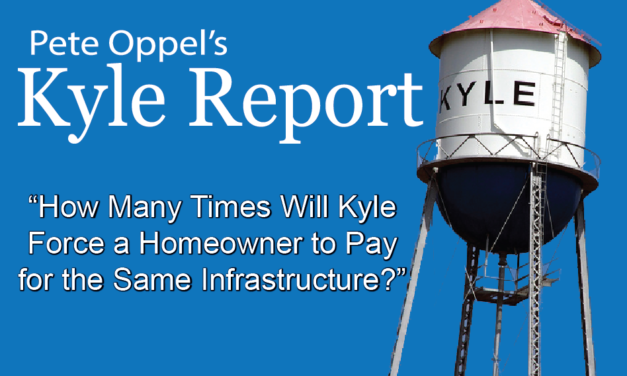 The Kyle Report: How Many Times Will Kyle Force a Homeowner to Pay for the Same Infrastructure?
