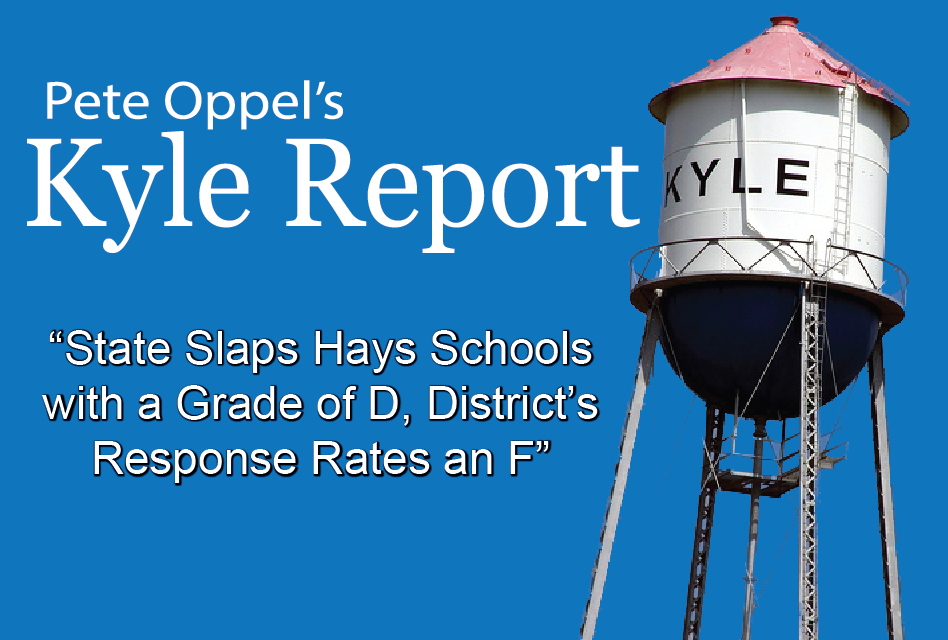 State Slaps Hays Schools with a Grade of D, District's Response Rates an F