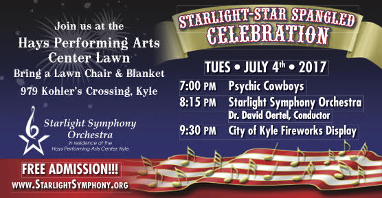 Starlight Symphony Orchestra 4th of July Celebration