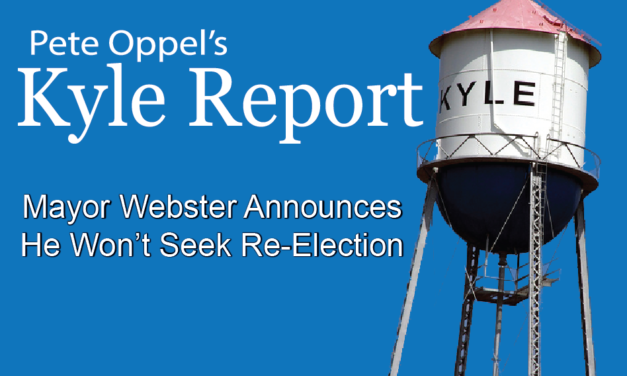 The Kyle Report: Mayor Webster Announces He Won't Seek Re-Election