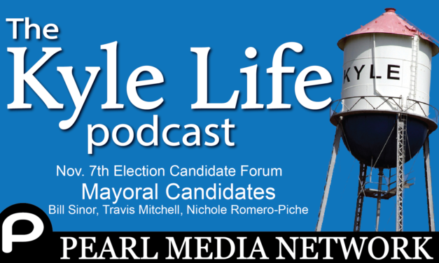 Nov 7 City of Kyle Election Candidate Forum – Mayoral Candidates: Bill Sinor, Travis Mitchell, Nichole Romero-Piche